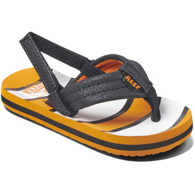 Reef Ahi Sandals Kids, orang fish